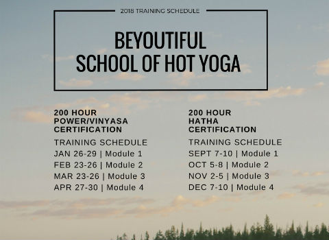b e y o u t i f u l HOT YOGA » Teacher Training